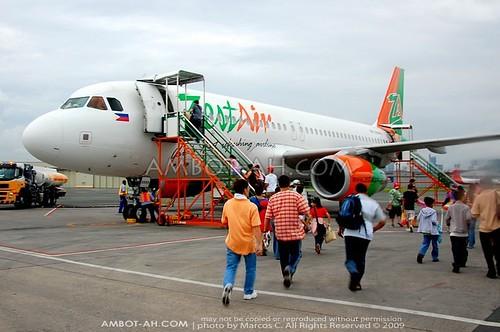 ZestAir A320 MNL-ILO