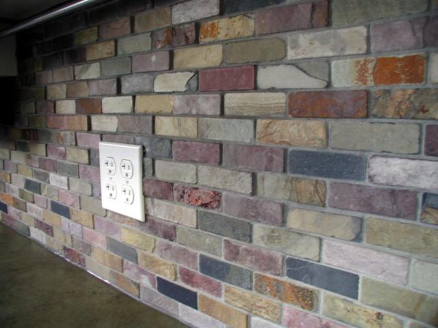 slate tile backsplash flickr photo sharing