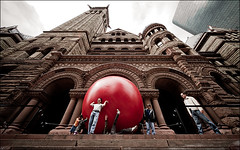 Red Ball at City Hall