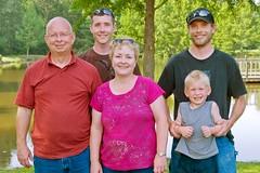 Vicky Hungate Nelson's family