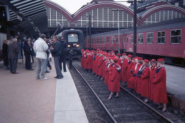 Protesting Train Workers, Copenhagen (1992)