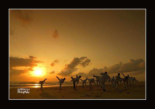 Sunrise & Taekwondo
