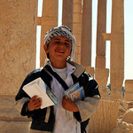My new friend in Palmyra, Syria
