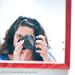 self portrait at MOPA (museum of photographic arts) san diego by fotonomous