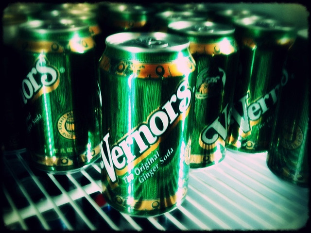 Vernors is delicious