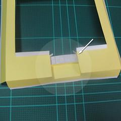 วิธีทำโมเดลกระดาษเป็นรูปบ้าน (Little House Papercraft Model) 003