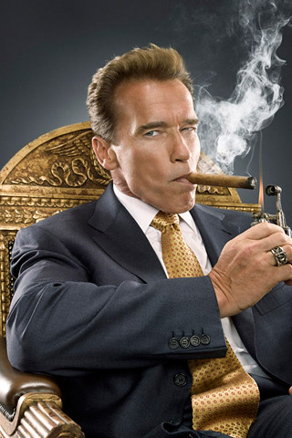 Arnold Schwarzenegger iPhone Wallpaper
