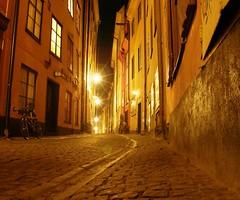 Prästgatan by Night