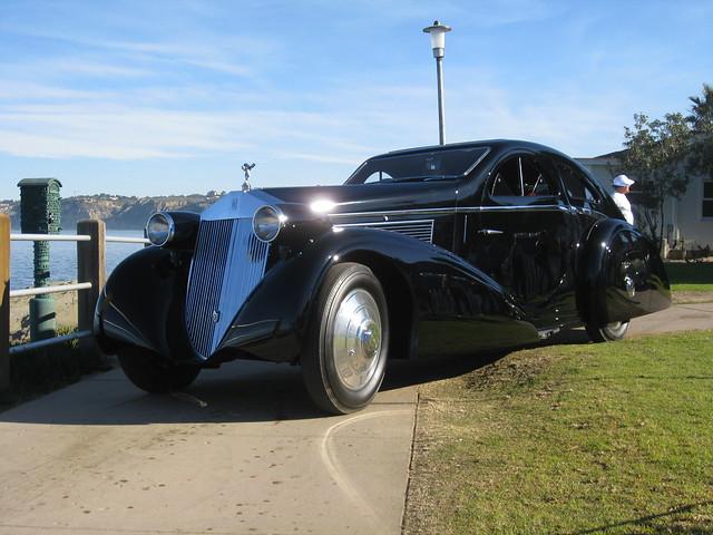 Rolls royce phantom i aerodynamic coupe aka the round for 1925 rolls royce round door