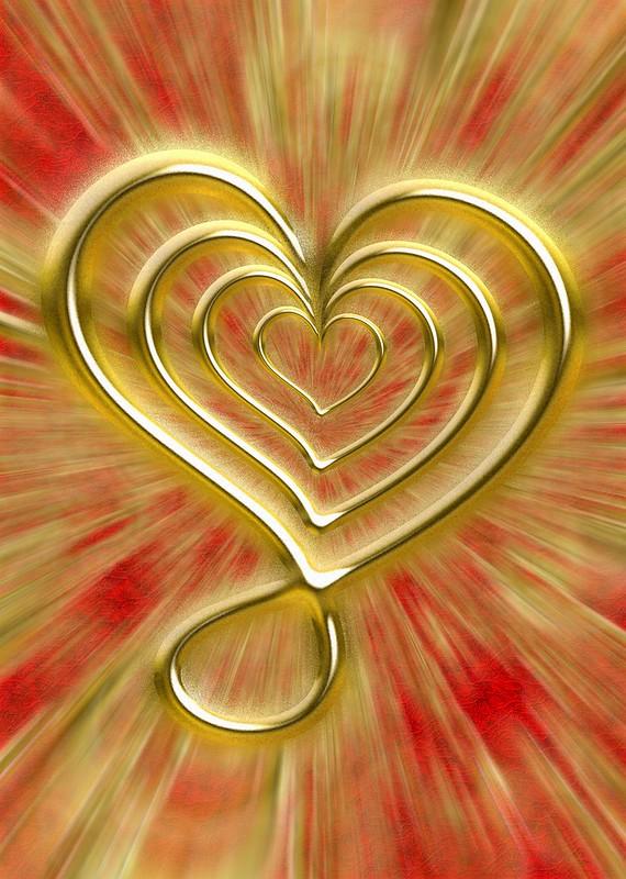 Love radiance, Valentine's Day