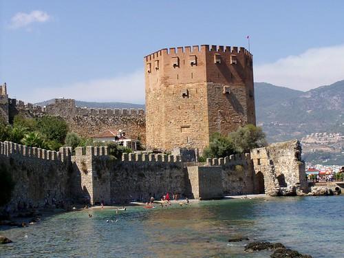Turkije - Alanya - De Rode Toren