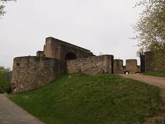 Reste einer Burg