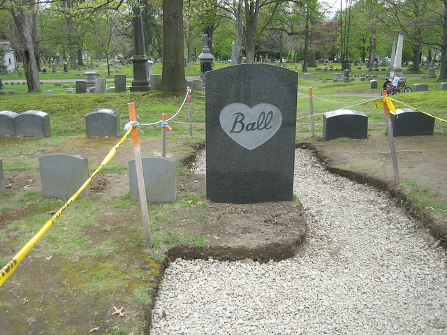 Lucille Ball 39 S Grave At Lakeview Cemetery Jamestown New York Flickr Photo Sharing