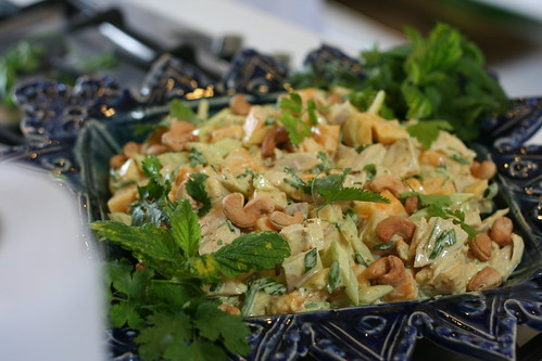 curried chicken and mango salad by deirdren, on Flickr
