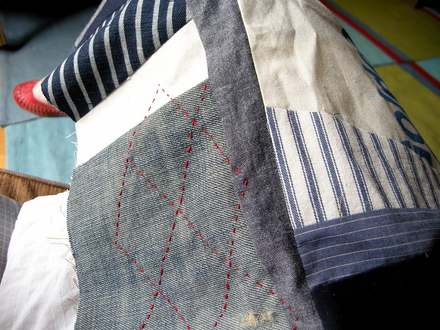 one quilt wip