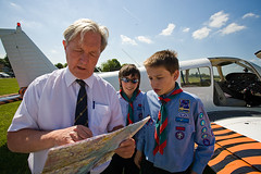 Maidenhead scouts go flying