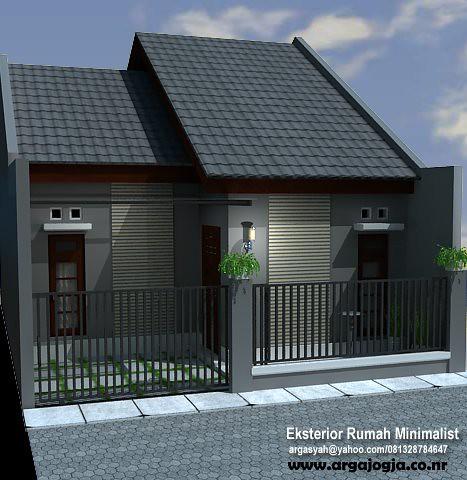 Desain Eksterior Rumah Mungil & Desain Rumah Kecil Minimalis | Design Rumah Minimalis