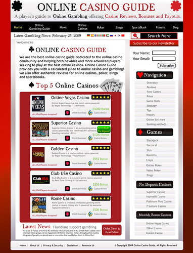 Online casino gambling guide florida indian casino