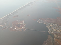 new jersey coast from the sky