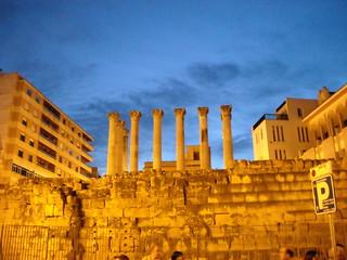 Imagen de Templo romano. españa temple spain roman columns andalucia romano cordoba templo
