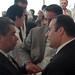 Empresarios en el centro libanes, 17-05-10.