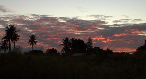 sky clouds sunrise mozambique zambézia