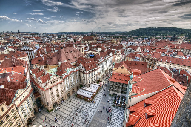 The sky above Prague / Il cielo sopra Praga