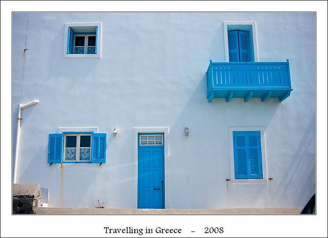 Greek colors - doors