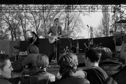 Konzert auf der Freilichtbühne Berlin-Weißensee am 01.05.1988<br>Foto © Stefan Mai