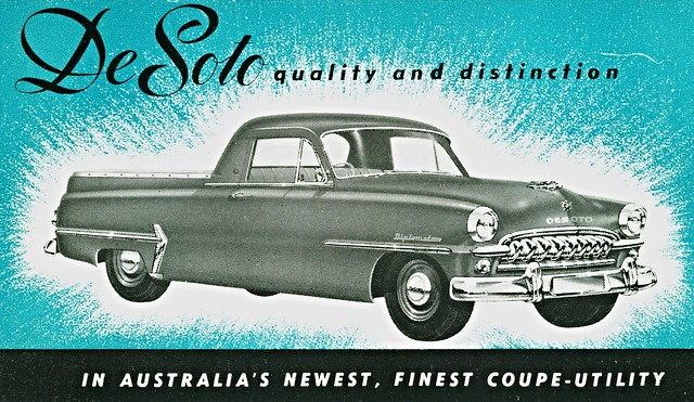 1954 DeSoto Coupe-Utility, Australia
