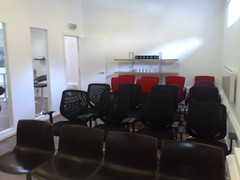 Meeting room ready for Mutipack