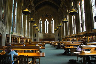 Suzzallo Library, one of the great libraries of the world - studying here embues you with a feeling of scholarly history, Seattle, Washington, USA | by Wonderlane