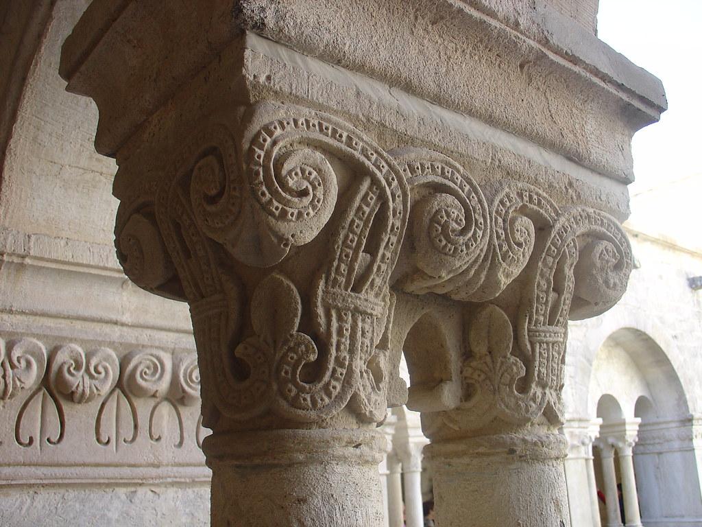 Capiteles del claustro