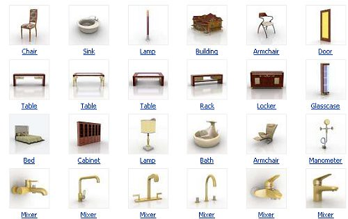 A Huge Websites List Of 3d Model Objects For Commercial
