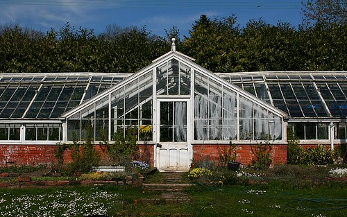 greenhouse at Croft Castle, Herefordshire
