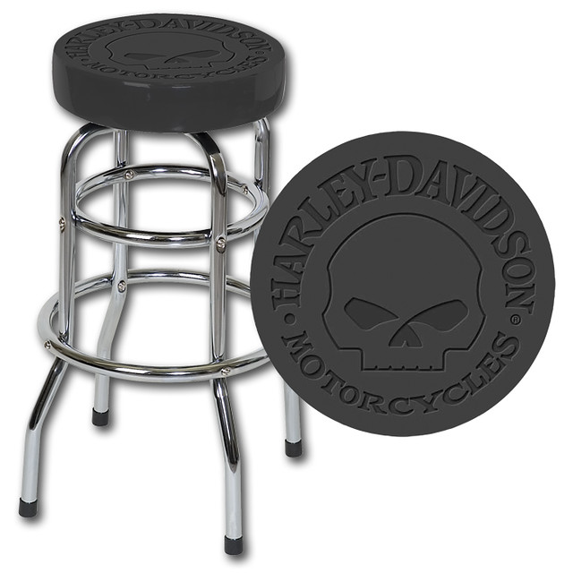 Harley Davidson Bar Stool Skull