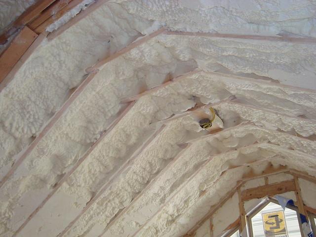 spray foam insulation insulation certainteed
