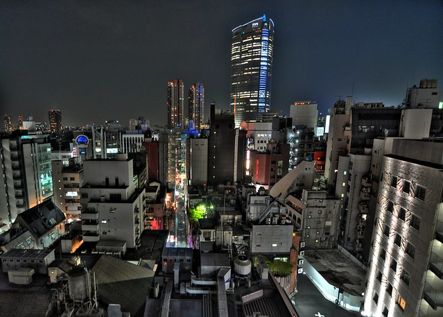 From a Tokyo hotel room