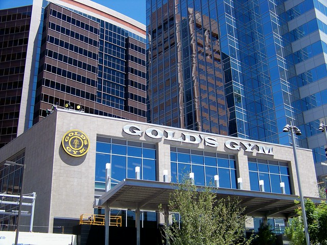 Gold's Gym at CityScape Phoenix from Flickr via Wylio