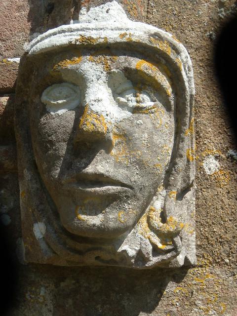 Head, Steventon Church