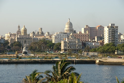 Sunny Havana During The Early Morning