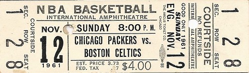 Boston Celtics vs. Chicago Packers, 1961-1962