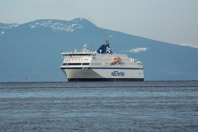 BC Ferry Northern Expedition arrives at Departure Bay by flickr user kams_world