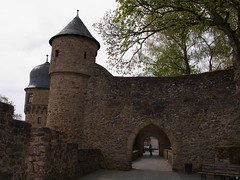 Durchgang zur Burgschänke