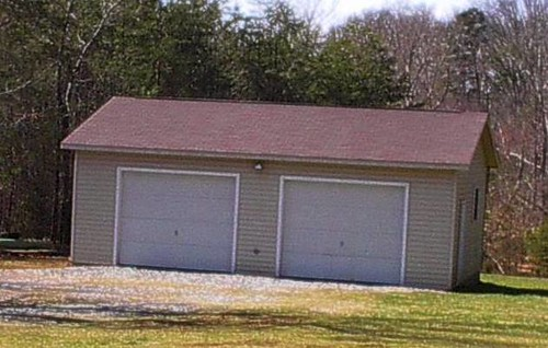 Two bay garage 1363 blackberry lane evington va 1368 for Two bay garage