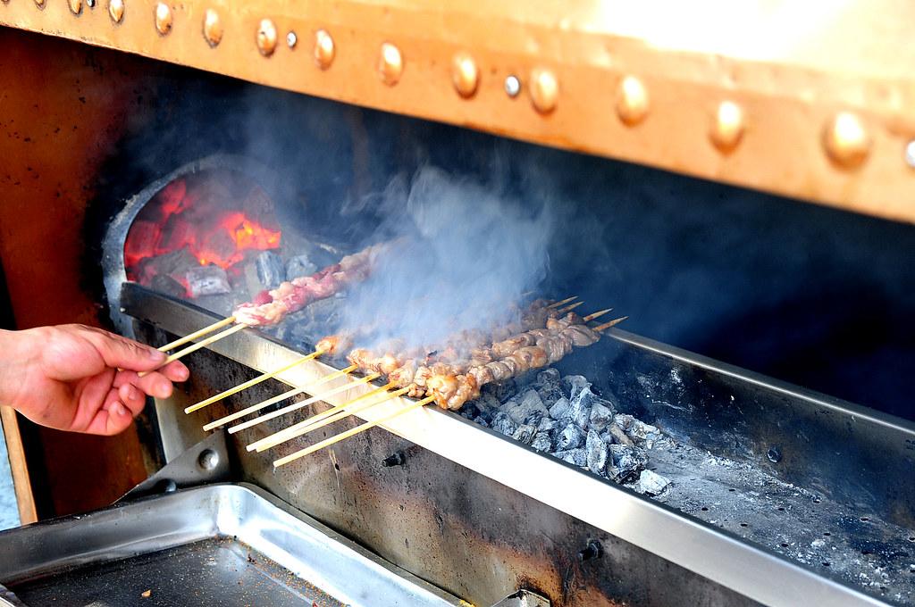 上海‧維吾爾烤羊肉串