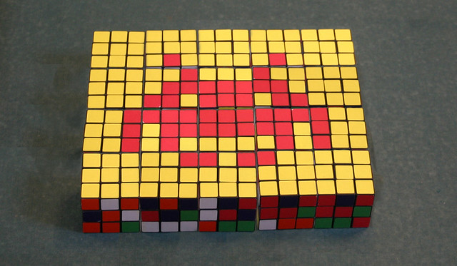 Rubik Invaders