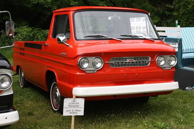 1961 Corvair Pick Up http://www.flickr.com/photos/carphotosbyrichard/3611354404/