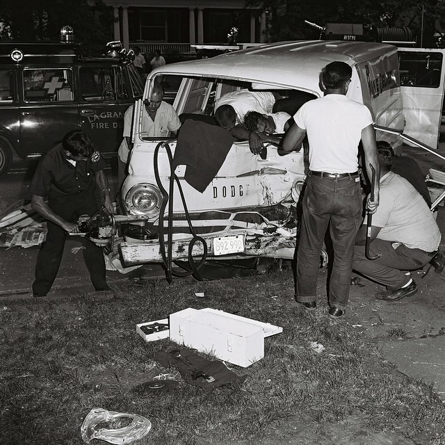 Van Johnson S Car Accident