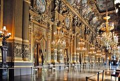 Le grand foyer de l'Opéra Garnier (Paris)